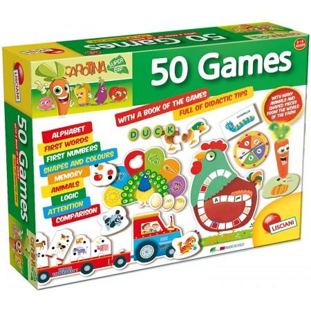 Set 50 jocuri cu pix interactiv, Lisciani*