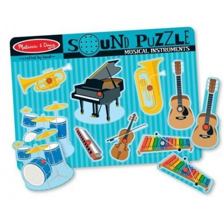 Puzzle sonor Instrumente muzicale Melissa and Doug