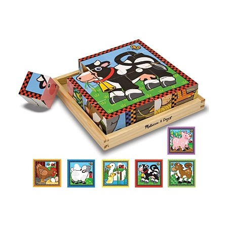 Cuburi Ferma Melissa and Doug