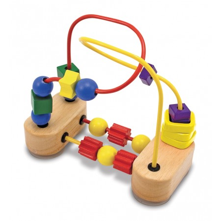Roller-coaster cu margele Melissa and Doug