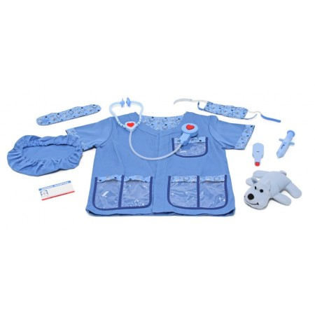 Costum carnaval copii Medic Veterinar Melissa and Doug