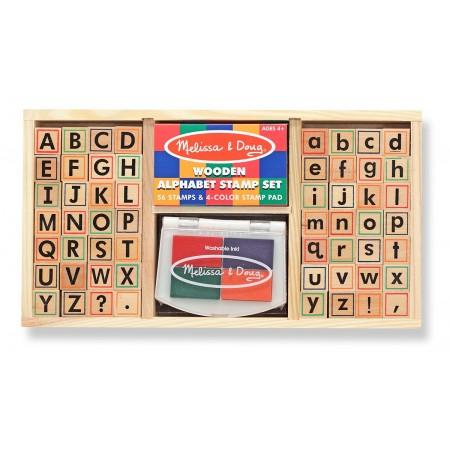 Set de stampile Alfabet Melissa and Doug