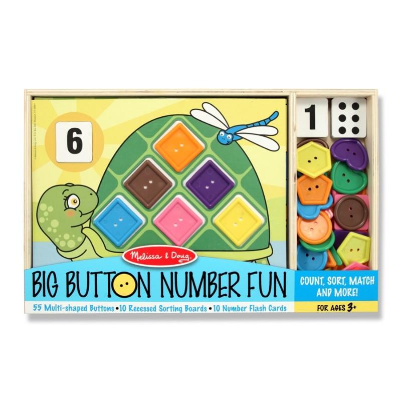 Activitati matematice distractive cu nasturi Melissa and Doug