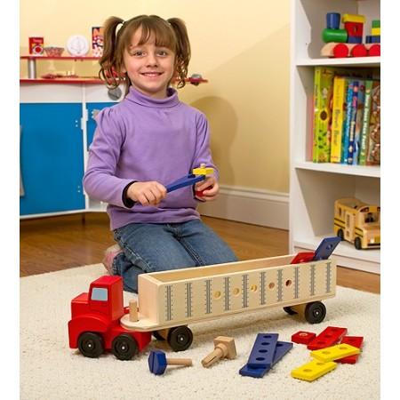 Banc de lucru mobil Camion cu unelte Melissa and Doug