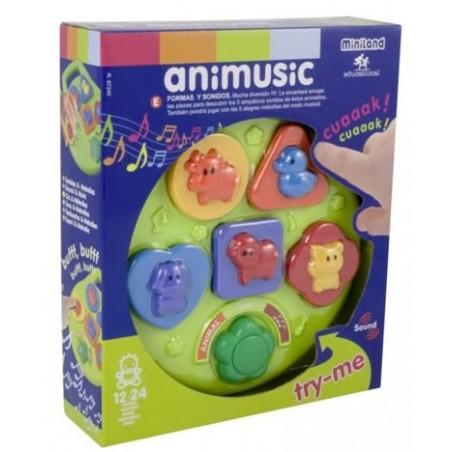 Jucarie muzicala Animusic Miniland