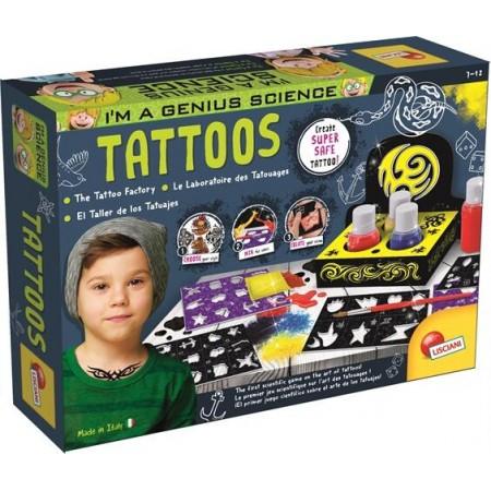 Experimentele micului geniu - Fabrica de tatuaje, Lisciani*