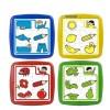 Set de 4 puzzle educative Miniland