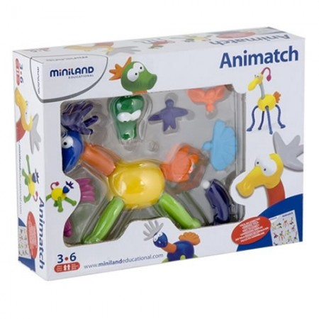 Joc distractiv Animatch Miniland