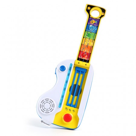 Baby einstein - jucarie muzicala 2 in 1 chitara si pian flip & riff keytar, Bright Starts*