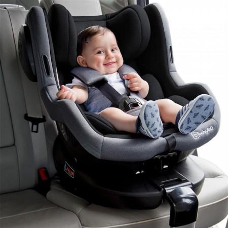Scaun auto iso rotativ 360° - negru, Babygo*
