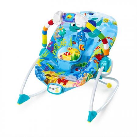 Baby einstein - balansoar cu vibratii ocean adventure rocker, Bright Starts*