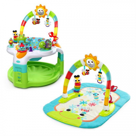 Centru de activitati 2 in 1 laugh & lights, Bright Starts*