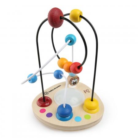 Baby einstein – jucarie cu bile din lemn hape color mixer, Bright Starts*