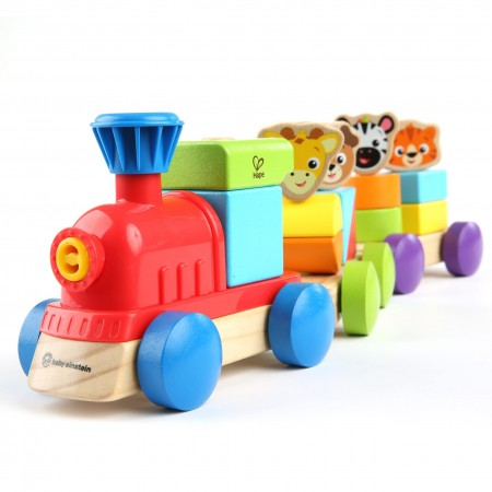 Baby einstein – jucarie de lemn hape discovery train™, Bright Starts*