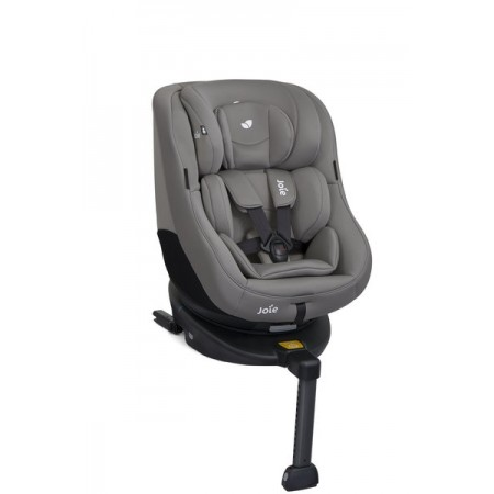 Scaun auto rotativ cu isofix spin 360° gray flannel, 0-18 kg, Joie*