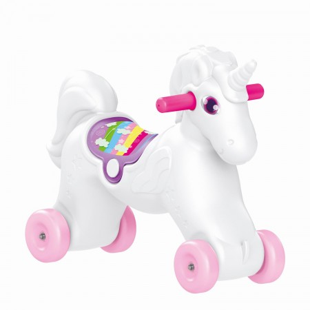 Jucarie 2 in1 - Unicorn balansoar, Dolu*