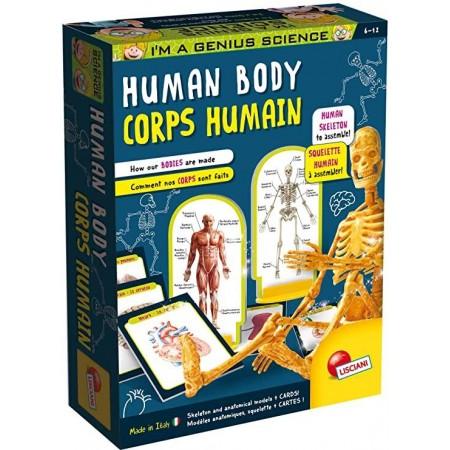 Experimentele micului geniu - Corpul uman, Lisciani*