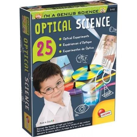 Experimentele micului geniu - Secretele opticii, Lisciani*