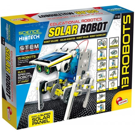 Set STEM - Robot alimentat cu energie solara, Lisciani*
