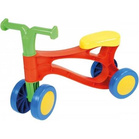 Vehicul fara pedale Lena din plastic Multicolor*