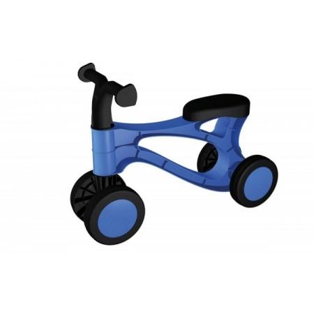 Vehicul fara pedale Lena din plastic Albastru cu Negru*