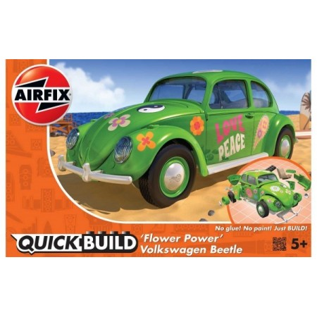 Kit constructie Airfix Quick Build Masina Flower Power*