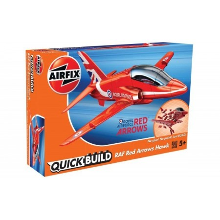 Kit constructie Airfix QUICK BUILD RAF Red Arrows Hawk*
