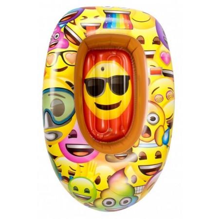 Barca gonflabila pentru copii Saica 90cm Emoji*