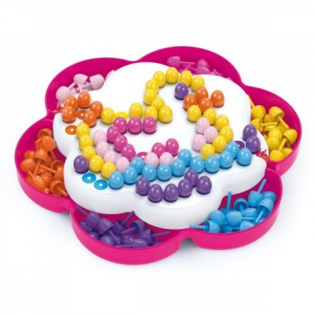 Joc mozaic pentru copii Quercetti Pixel Daisy 150 piese*
