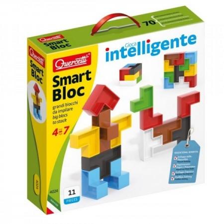 Set constructie copii Smart Bloc 11 piese 4024 Quercetti piese multicolore*
