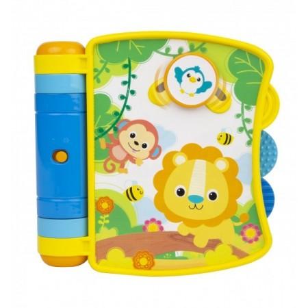 Carticica interactiva Winfun pentru bebelusi cu melodii si sunete*