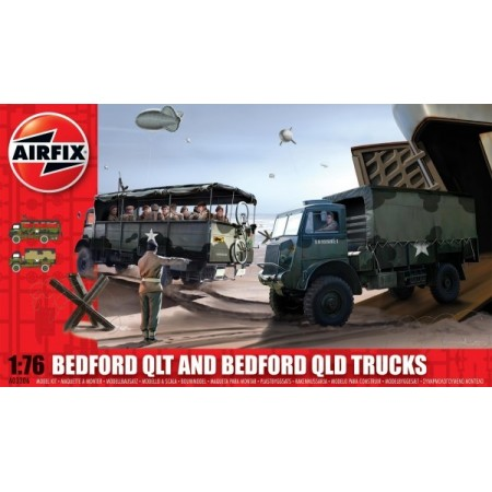 Airfix Bedford Qlt And Bedford Qld Trucks*