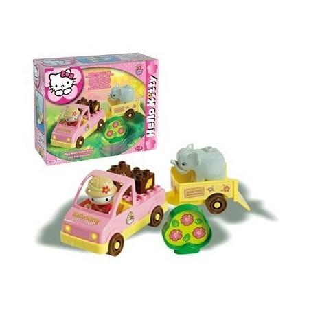 Set constructie Unico Plus Hello Kitty Mini Safari, Androni Giocattoli*