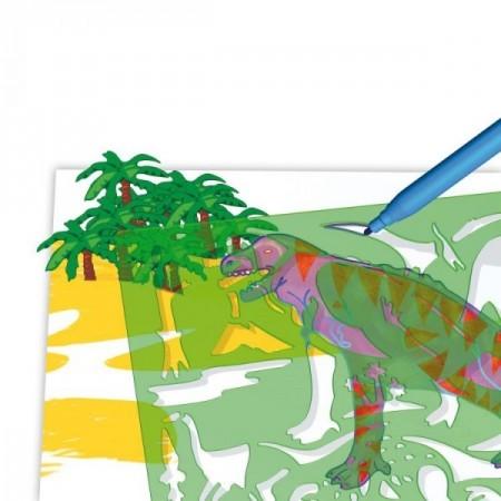 Set creativ pentru copii Forme Dinozauri Quercetti*