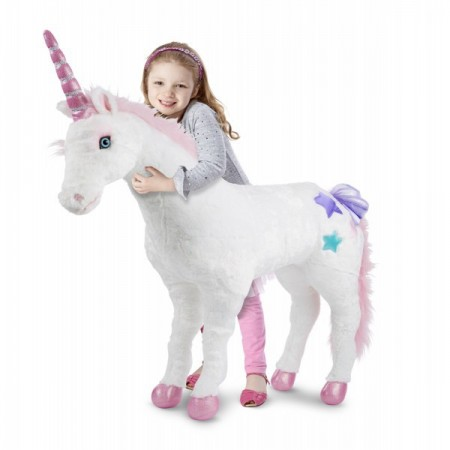 Unicorn gigant din plus Melissa and Doug