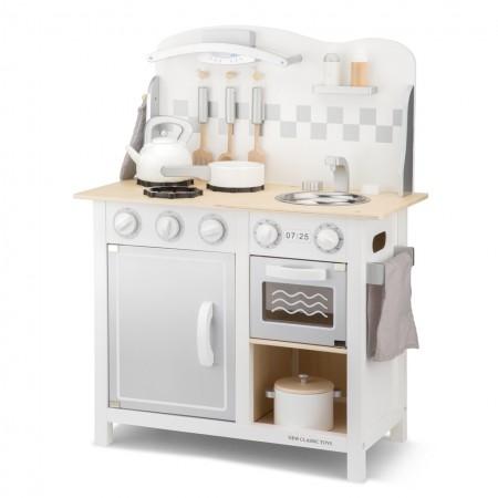 Bucatarie bon appetit deluxe alb/argintiu, New Classic Toys*