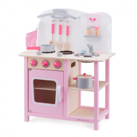 Bucatarie bon appetit roz, New Classic Toys*