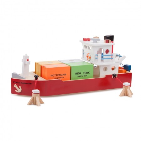 Vas cu 4 containere, New Classic Toys*