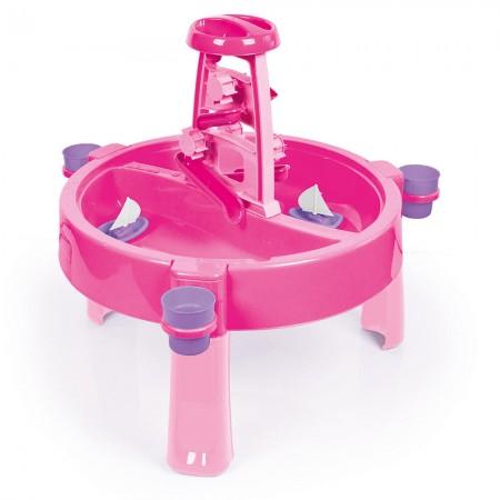 Masuta de activitati pentru apa si nisip - roz, Dolu*