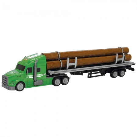 Camion Dickie Toys Road Truck Log*