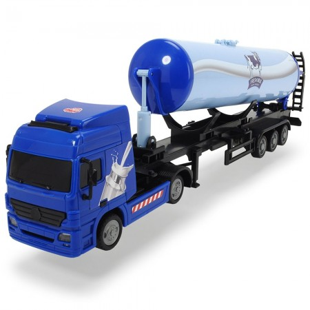 Camion Dickie Toys Road Truck Fresh Milk*