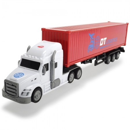 Camion Dickie Toys Road Truck DT Logistics*