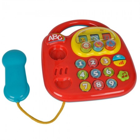 Jucarie Simba ABC Telefon muzical rosu*