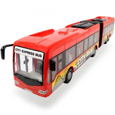 Autobuz Dickie Toys City Express Bus rosu*