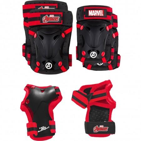 Set protectie Skate Cotiere Genunchiere si Incheieturi Avengers Seven SV9066*