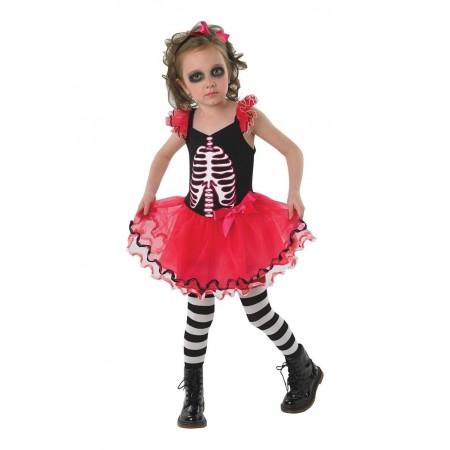 Costum de carnaval - Schelet Balerina, Rubie's*