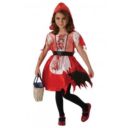Costum de carnaval - Scufita Rosie infricosatoare, Rubie's*
