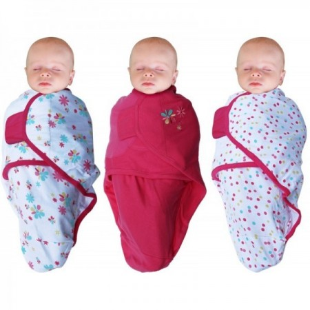 Set 3 Body special tip Wrap Bo Jungle model fete pentru bebelusi marime S 3-6kg din bumbac*