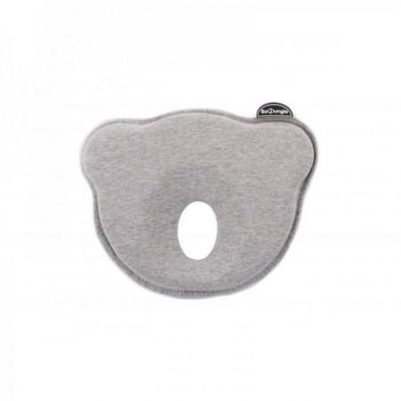 Suport special pentru cap plagioencefalie bebelus BO Jungle sub forma de pernuta gri*