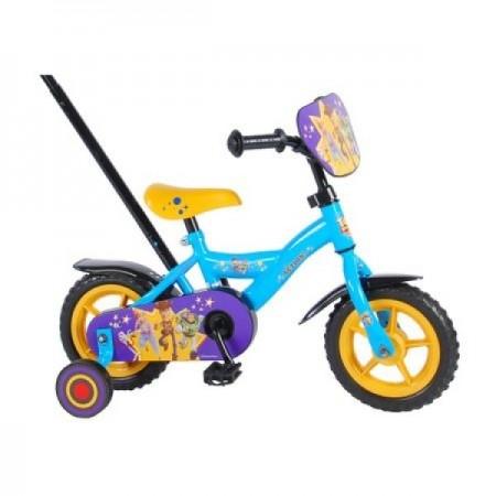Bicicleta pentru baieti Volare Toy Story 4 91007 10 inch cu roti ajutatoare si maner control parinte*